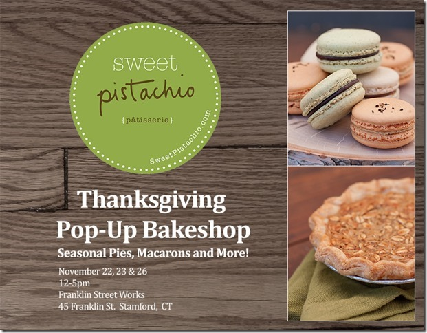 Thanksgiving Pop-Up Bakeshop